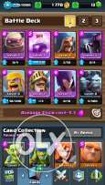 Clash royal arena 6 .