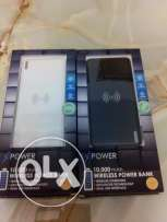 Free shipping Wireless 10000mah power bank 2 usb Xpower10W brand new
