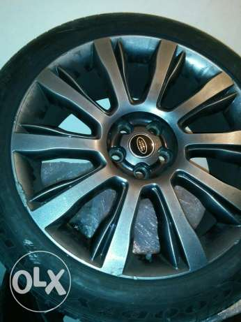 Original range rover vogue se rims 2014 طبرجا -  3