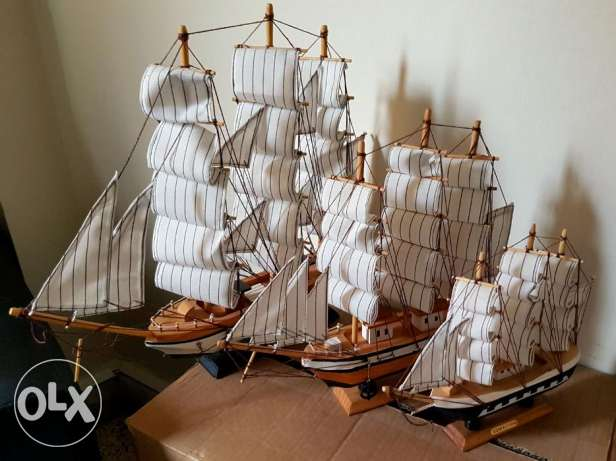 Wood ships for sale