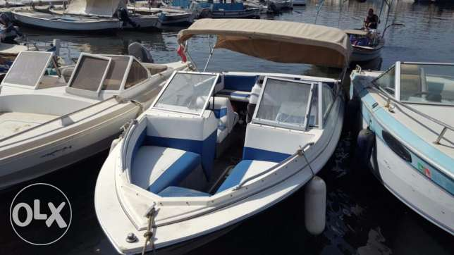 Bayliner American 4 cyl 3.0 mercruiser with lifetime parking المرفأ -  1