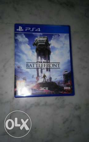 Starwars battlefronts on ps4 for sale