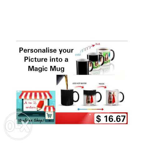 Personalise your Picture into a Magic Mug