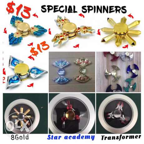 gold spinners