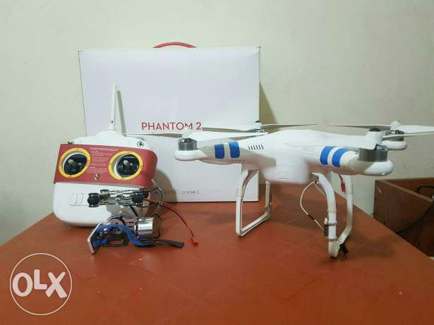 Dji phantom 2 trade 3ala iphone 6s الشياح -  1