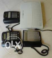 centrale Telephone Nec 4 out / 16 In