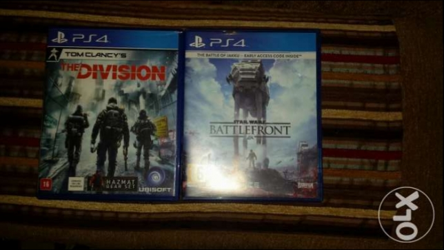 Battle front and the division ps4 برج حمود -  1