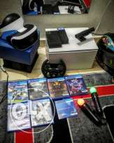 VR virtual reality for ps4.