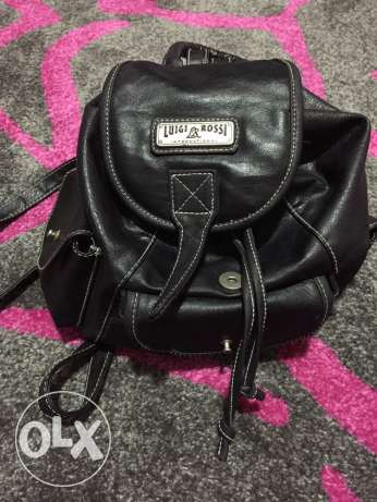 Original Luigi Rossi leather backpack
