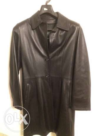 Italian real leather coat from florence italy