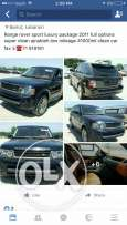 Range rover sport HSE luxury 2011 full options basket interior ajnabie