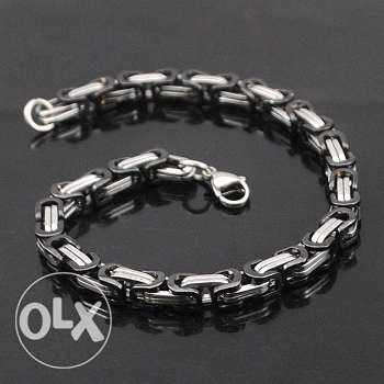 Unisex stainless steel bracelet (4 colors - 4 pictures)