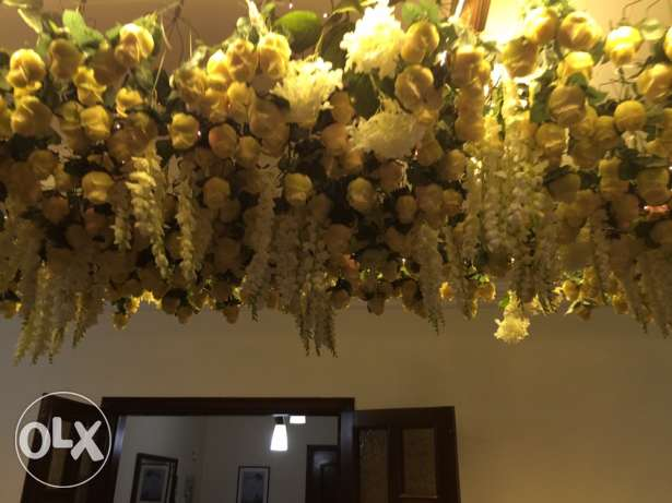 Flower Ceiling Decoration, Engagement/Wedding