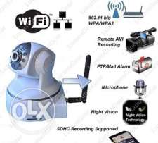 IP Wifi Camera-Home Security-Night Vision