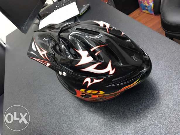 casque lal moto wel cross over wel atv very good and like new