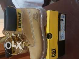 Caterpillar boots never warn before size 41/42 Yellow for sale
