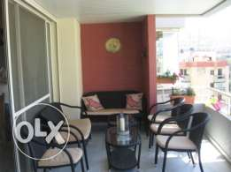 167 sqm apartment for sale in Jamhour, Baabda- PANORAMIC VIEW