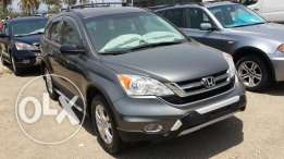 2011 Honda CRV 4WD Gray and Black leather interior