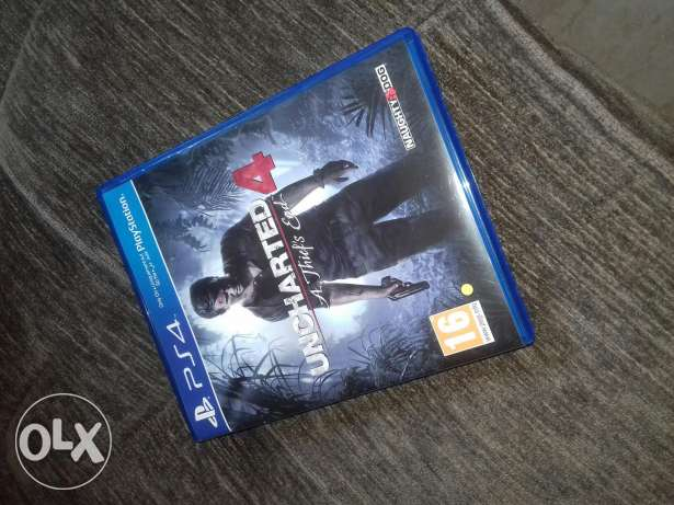 Uncharted 4 for sale loc da7yeh