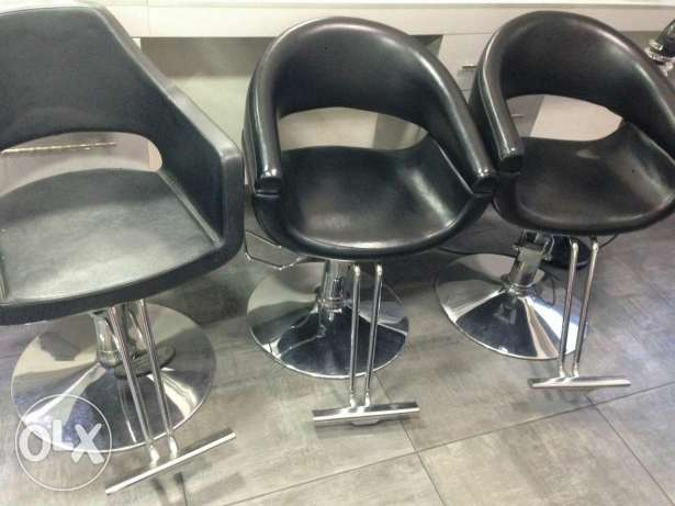 Used chairs women hair designer: