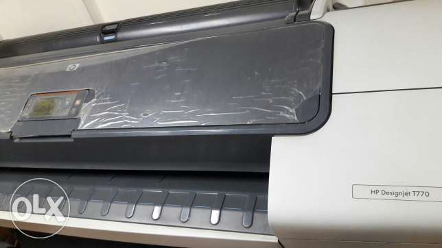 hp ploter t770 in good condition