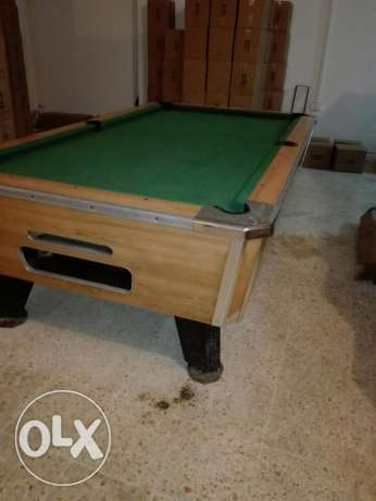 Pool table vally بلياردو