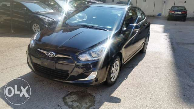 Hyundai accent 2015 black