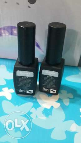 Rubber base & top for gelish.