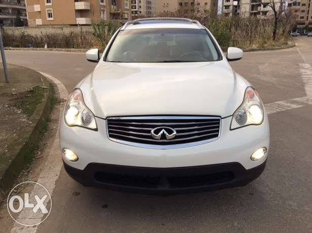 2008 Infiniti ex35 white/black very clean xenon keyless not registered