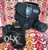 Canon EOS 1000D Digital SLR camera in tiptop shape with lens & pouch