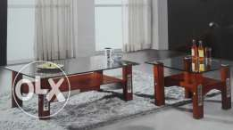Wooden and stainless coffee tables prices start from $100