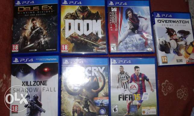 New ps4 game titles