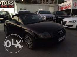 Audi TT 2001 Black Convertible in Good Condition!