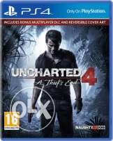 uncharted 4 for ps4 never used with online code for 3 years or trade