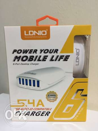 LDNIO Charger 6 Pots