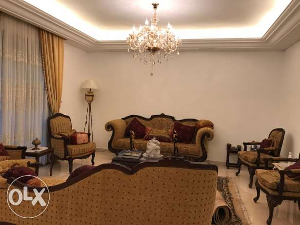 fully furnished apartment for rent in ain mrayseh beirut
