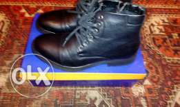 Black leather shoes size41