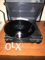 RECORD PLAYER Jensen new black and small