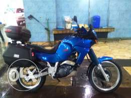 Yamaha Tenere TRADE or SALE touring 660cc Pearl blue +Givi boxes