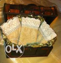 Guests toilet towels (coffret)