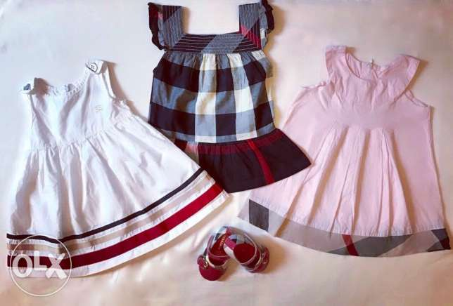 Shoes and dresses Burberry. Original. Very low price