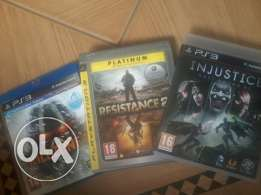 3 Ps3 Games In good condition