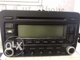 Original golf 5 radio