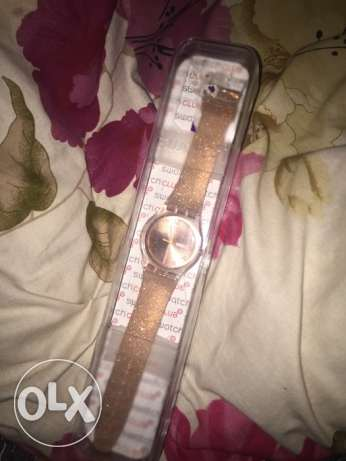 Woman swatch watch