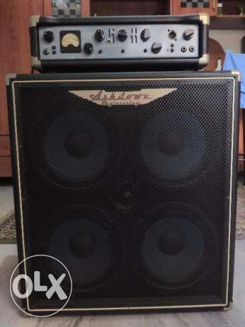 Ashdown Bass Amp Head + Cab