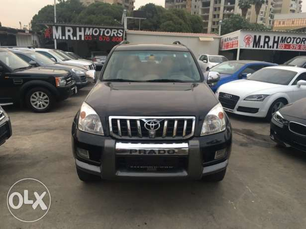 Toyota Prado VX 2009 Black Fully Loaded in Excellent Condition! بوشرية -  2