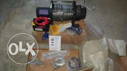 12000 synthetic rope winch