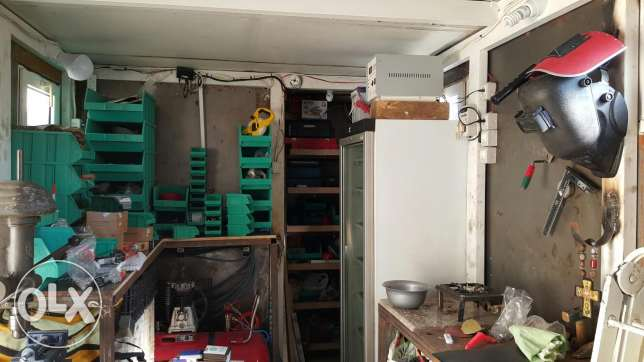 Container workshop and office 18m2 جبيل -  1
