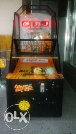 Basketball machine in good condition