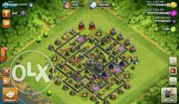 Clash of Clans TH9.